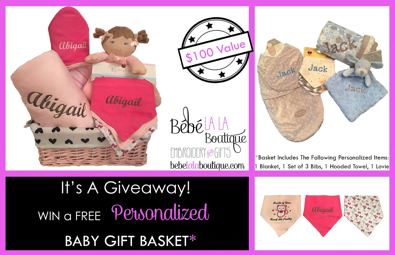 Contest: Win A Personalized Baby Gift Basket