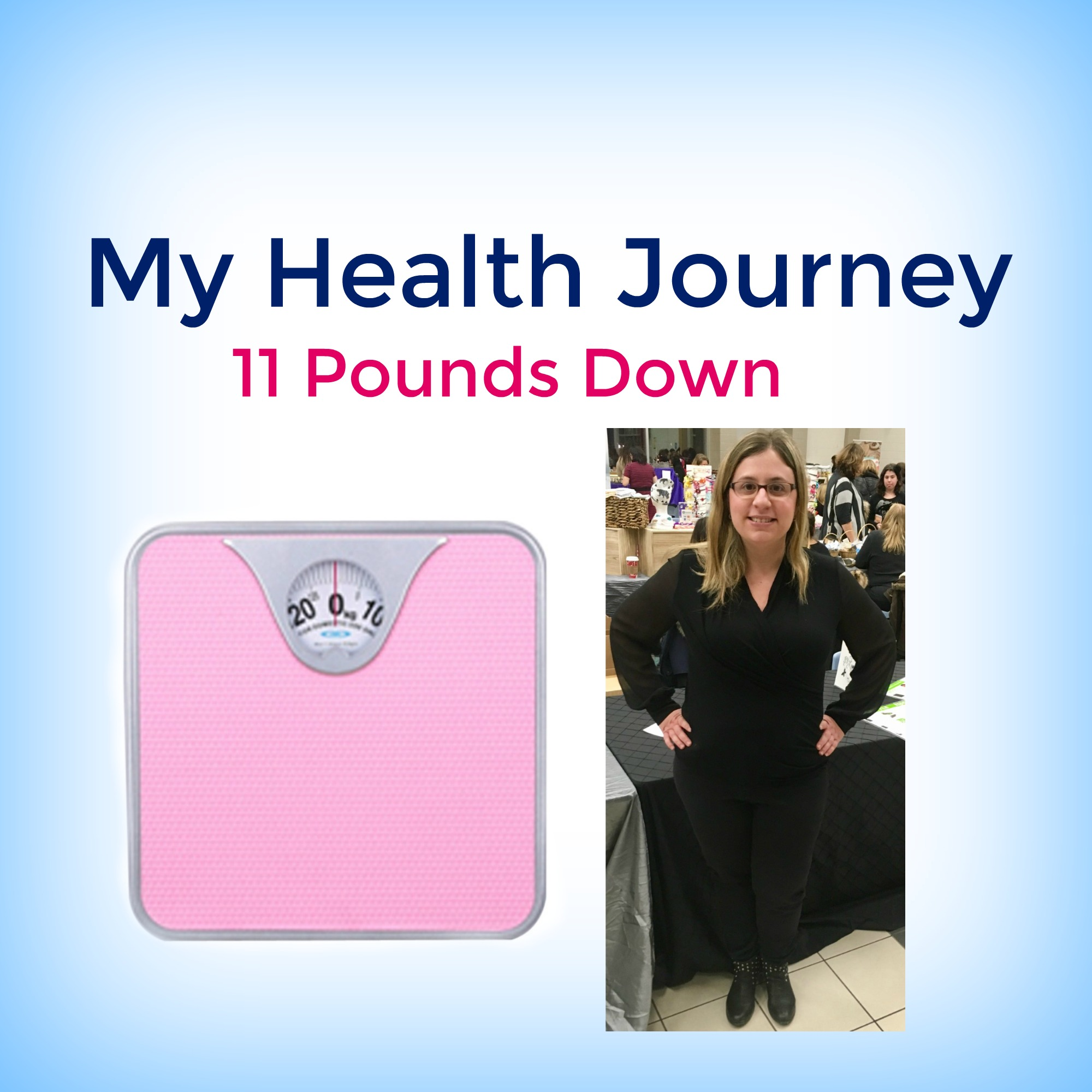 My Journey To Health: 11 Pounds Down!