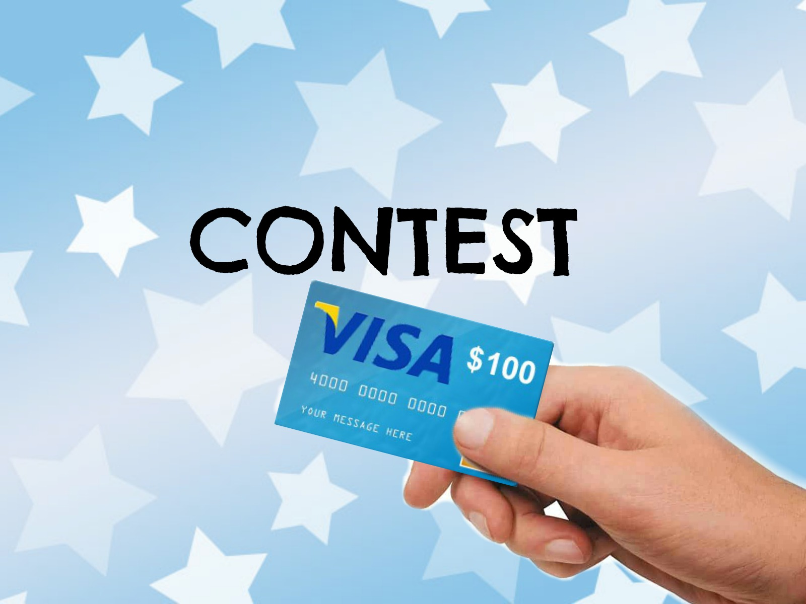CONTEST: Win $100 VISA Gift Card