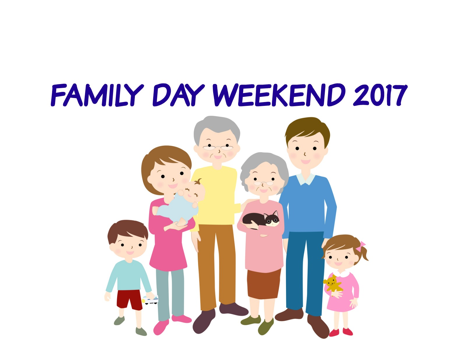 FAMILY DAY WEEKEND 2017