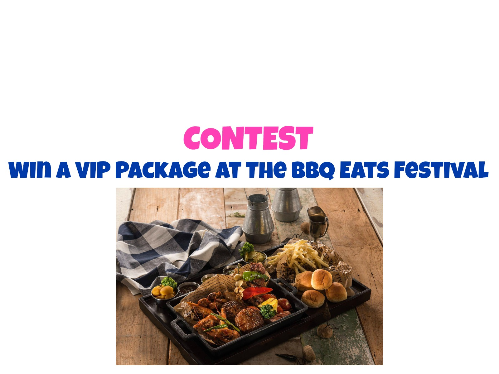 CONTEST: Win Free Food At The BBQ Eats Festival
