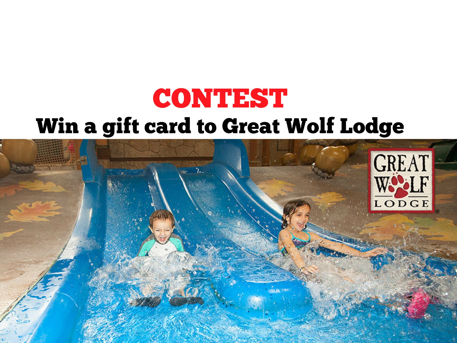 Contest: Win A Great Wolf Lodge Gift Card