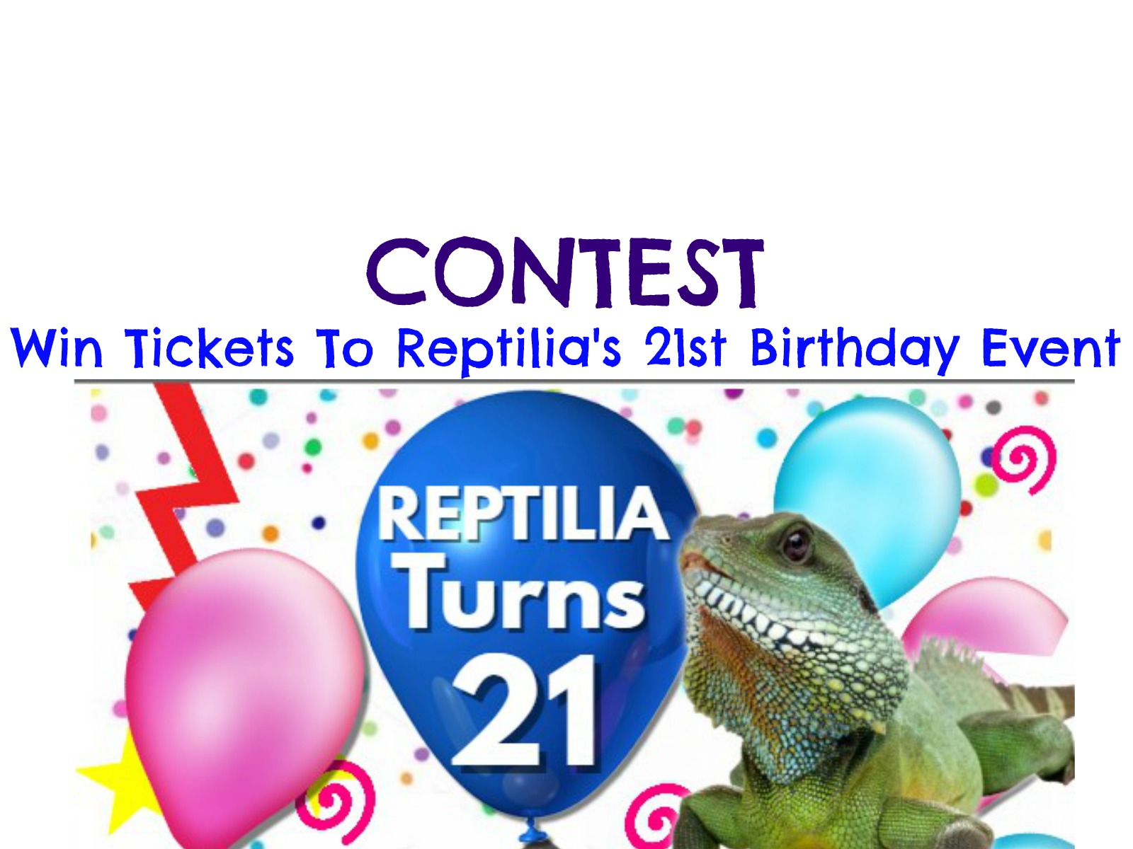 Contest: Win 5 FREE Tickets to the Reptilia Event