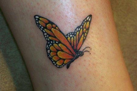 33 erfly tattoo