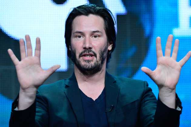 Keanu Reeves, (photo courtesy of PBS)