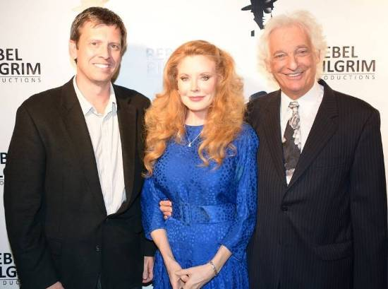 Producer/Actor Joe Boyd, Actress Rebecca Holden & Grammy Producer Joel Diamond at film premiere