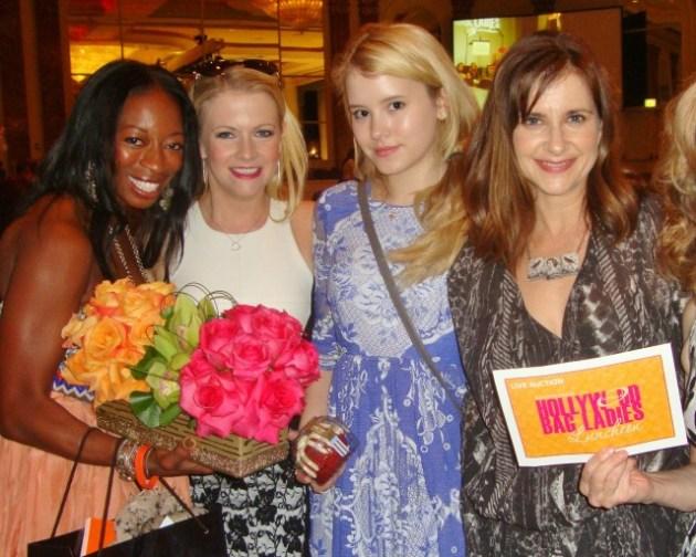 Dahn Ballard, Melissa Joan Hart, Taylor Spreitler, Kellie Martin (photo by Margie Barron)