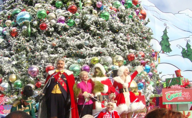 Florence Henderson at Universal's Grinchmas (photo by Margie Barron