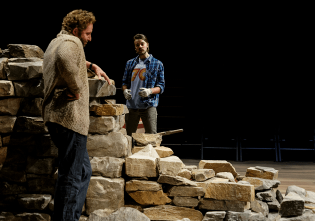 """Todd Weeks (left) as """"Daniel"""" and Ian Littleworth as """"Luke"""""""
