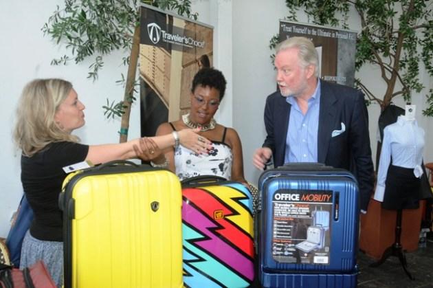 Oscar Winner & Emmy Nominee John Voight, with Traveler's Choice Luggage