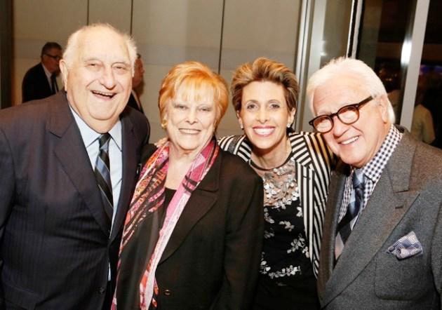Producers Chuck & Ava Fries with Erica & Vin Di Bona at Caucus Awards