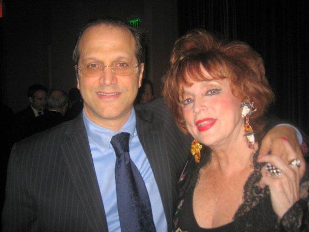Producer Gary Michael Walters & Columnist Marci Weiner at Night of 100 Stars (All photo credits to Glen Lipton)