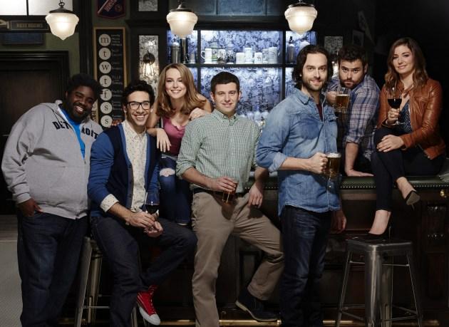 """Undateable"" comedy castmates (photo courtesy of NBC)"