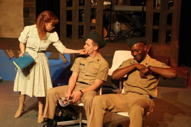 Violet the Musical stars Kristin Towers Rowles, Michael Spaziani, Jahmaul Bakare