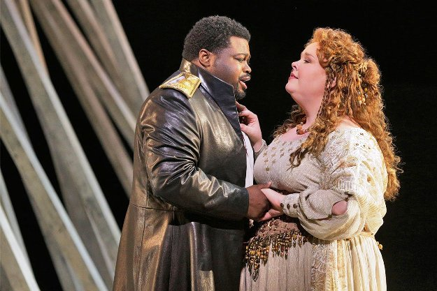 Russell Thomas & Angela Meade - stars of Opera Norma