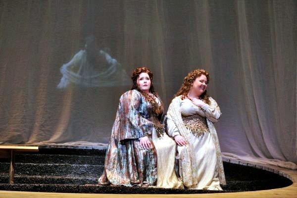 Jamie Barton & Angela Meade performing in Opera, Norma