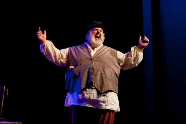 Fiddler on the Roof with Fred Helsel as Tevye at NoHo's El Portal Theatre
