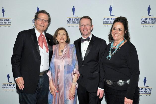 Patrick Wayne, Ruth Weil, Dr. Mark Faries, Anita Swift (photo by Vince Bucci)