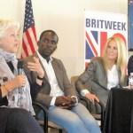 BritWeek stars Jane Carr, JimmyAkingbola, JoanVanArk, JackLowe (photo by Margie Barron)