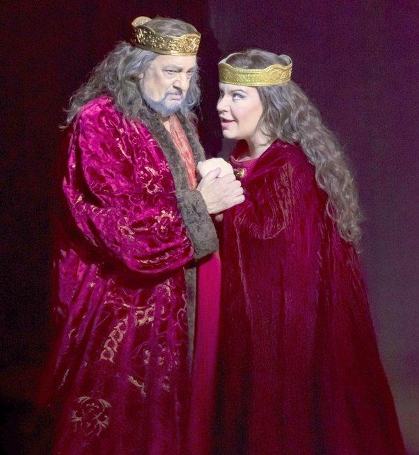 Placido Domingo & Ekaterina Semenchuk - Stars of Macbeth (Photo Credit - LA Opera)