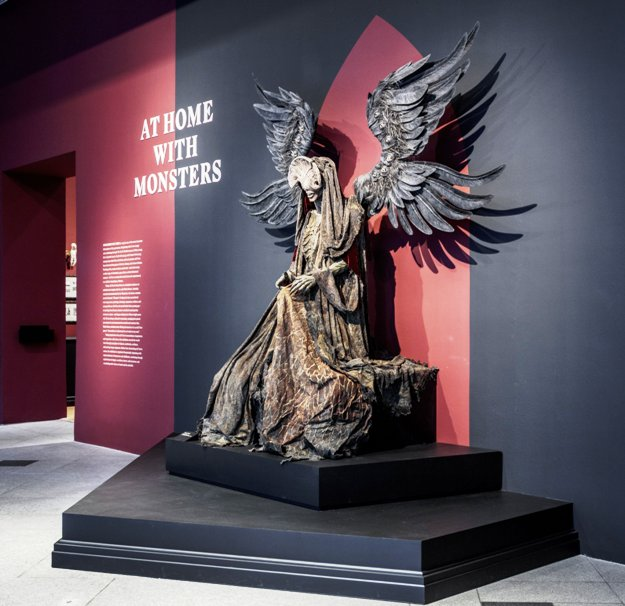 Monsters Exhibit at LACMA (Photo Credit - Insight Editions)