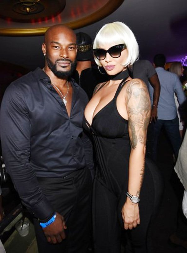 Models Tyler Beckford & Amber Rose at Maxim Hot 100 (Photo Credit - Getty Images)
