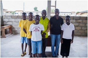 Child beneficiaries of Challenging Heights, a social enterprise supported by Reach for Change that rescues children from slavery and provides community programming to reduce the chances that children will be sold into slavery