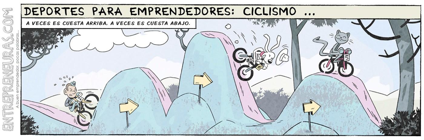 Ciclismo (deportes para emprendedores) - Entrepreneuras.com