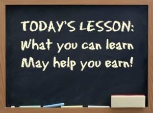 Chalkboard-lesson