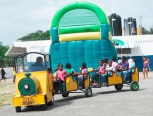 Lawnmower-train