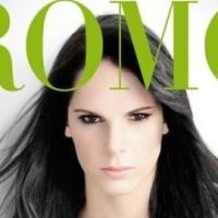 Julieta Piñeres en la portada de Cromos