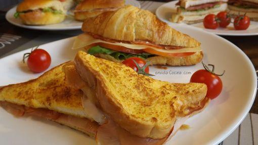Sandwiches calientes y fríos