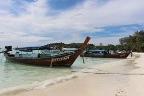 Les longtails boats de Koh Lipe