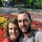 selfie-jardin-fleur-chiang-rai