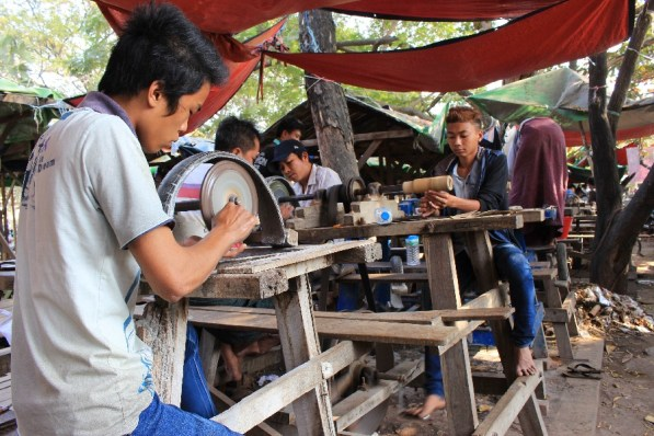 Les tailleurs de jade.