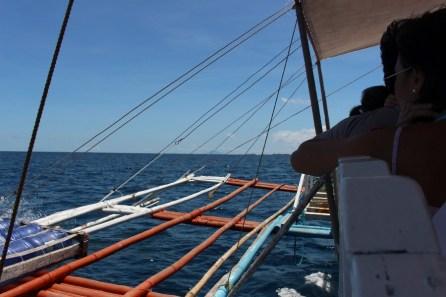A bord d'un bangka
