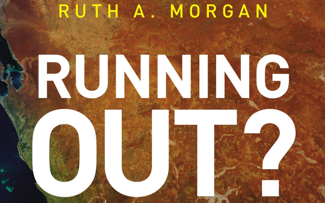 Ruth Morgan's 'Running Out?' a winner in WA Premier's Book Awards (plus podcast interview)