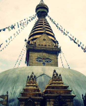 Mornings at Swayambhu