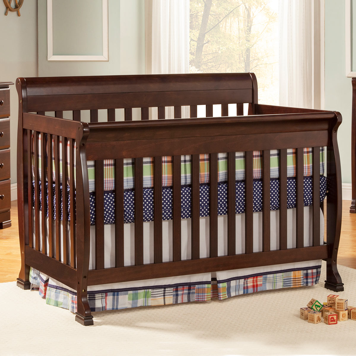 Fullsize Of Davinci Kalani 4 In 1 Convertible Crib