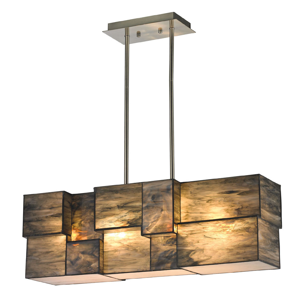 elk 72073 4 cubist contemporary brushed nickel kitchen island lighting 6