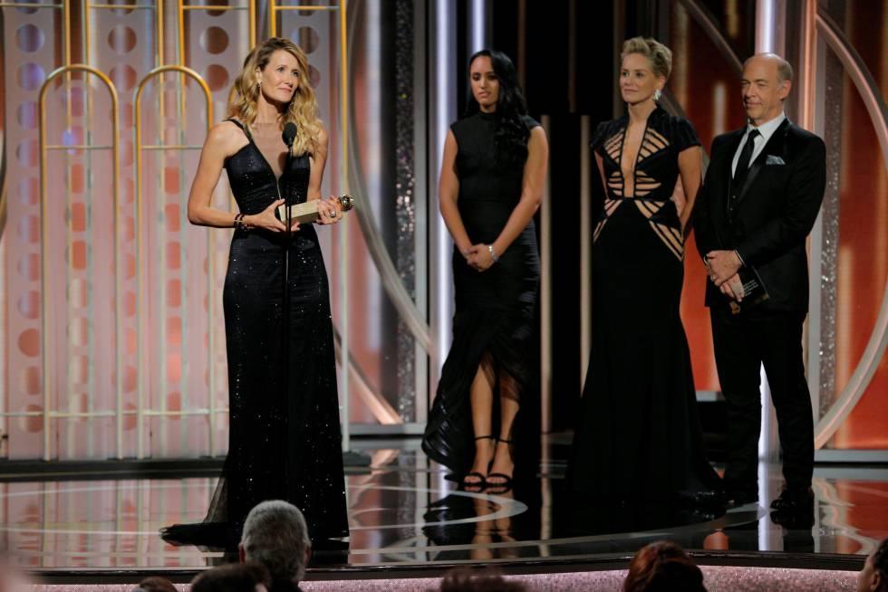 Laura Dern se lleva el Globo de Oro a mejor actriz secundaria en televisión por su trabajo en 'Big Little Lies',