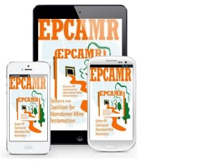 EPCAMR Mobile App Phones Logo