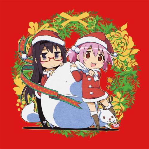 Homura and Madoka Christmas!