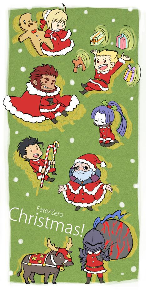 Fate/zero Christmas!