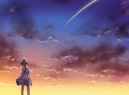 Toki wo Kakeru Shoujo shooting star