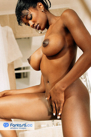 topless ebony women hard nipples