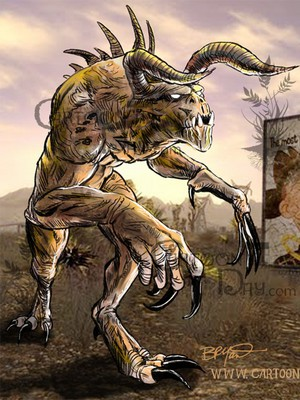 fallout new vegas deathclaw baby