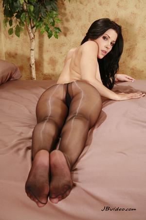 mature 60 stockings feet