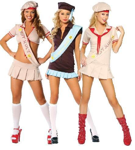 junior girl scouts