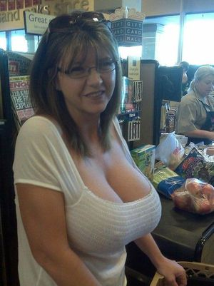 short dress at grocery store